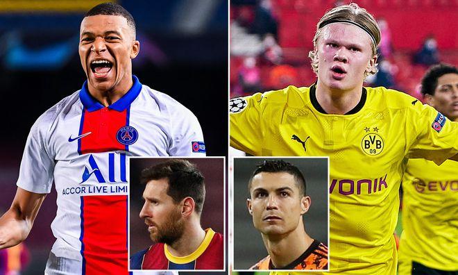 Mbappe và Haaland đọ tài: Cần ghi bao nhiêu bàn thắng để sánh ngang với Ronaldo? - 1