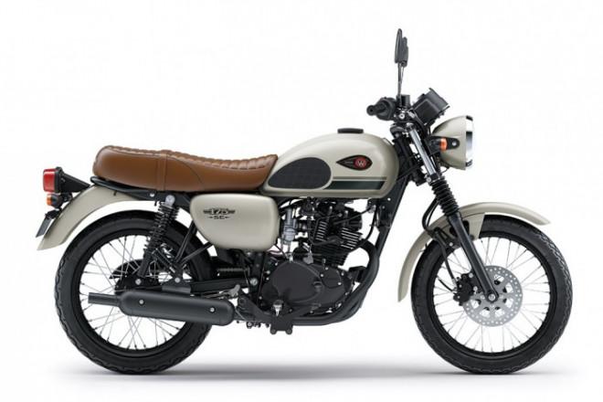 Kawasaki W175 SE 2021 ra mắt, có thêm tùy chọn màu mới - 1