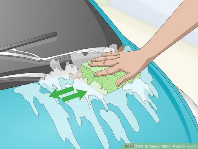 Cách sửa chữa vết rỉ sét nhỏ trên ô tô - 2