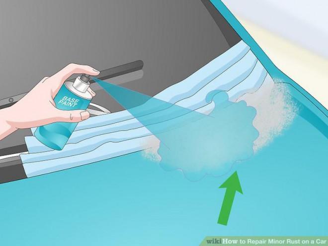 Cách sửa chữa vết rỉ sét nhỏ trên ô tô - 10