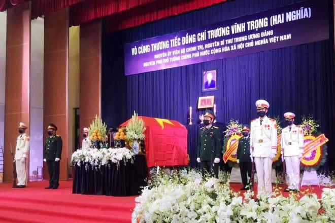 Xúc động tiễn đưa nguyên Phó Thủ tướng Trương Vĩnh Trọng - 1