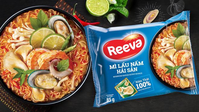"""Mì Reeva cao cấp với nấm bào ngư và rong biển tươi 100% """"giải ngấy"""" sau Tết - 1"""