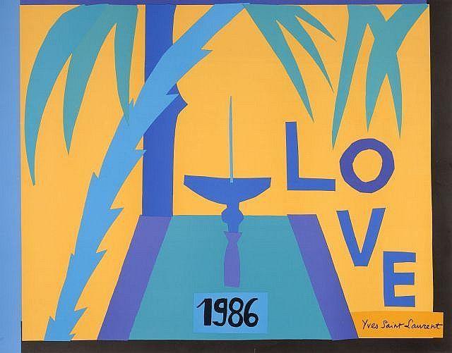 Những tấm thiệp tình yêu bí ẩn của thiên tài thiết kế Saint Laurent - 6