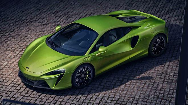Siêu xe động cơ lai McLaren Artura được trình làng, có giá bán hơn 5,1 tỷ đồng - 2