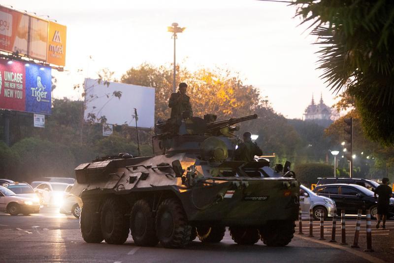 """Đảo chính quân sự ở Myanmar: Mỹ """"giáng đòn"""" 2 tướng quân đội cấp cao - 1"""