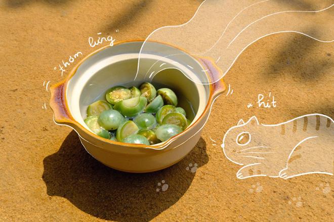 """Loại quả cực khó ăn mà nấu chung với đủ thứ rau rừng, thành món ăn hấp dẫn """"mê hoặc"""" - 7"""