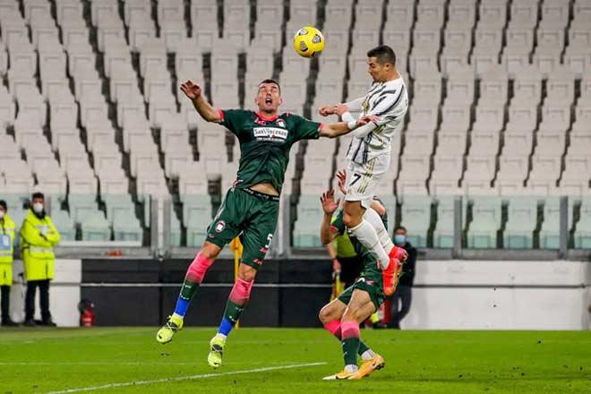 """Morata mắc bệnh lạ, """"Vua đánh đầu"""" Ronaldo tỏa sáng Juventus vẫn lâm nguy - 1"""