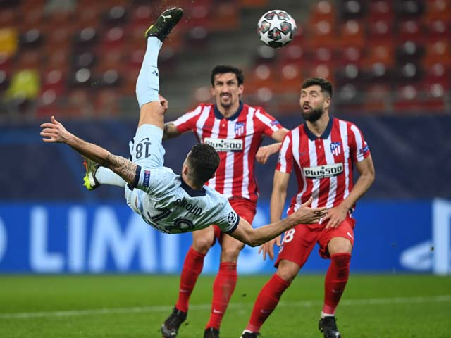 Kết quả bóng đá Cúp C1, Atletico Madrid - Chelsea: Siêu phẩm móc bóng định đoạt
