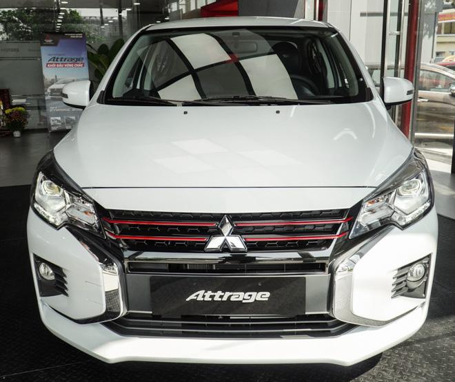 Giá lăn bánh Mitsubishi Attrage Premium vừa ra mắt - 1