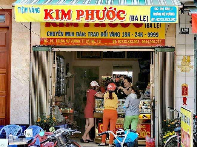 Tiệm vàng Kim Phước Cái Bè - Giữ chữ tín hơn giữ vàng - 1