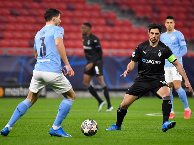 """Kết quả bóng đá Cúp C1, Monchengladbach - Man City: Choáng váng 2 đòn """"chí mạng"""" - 1"""