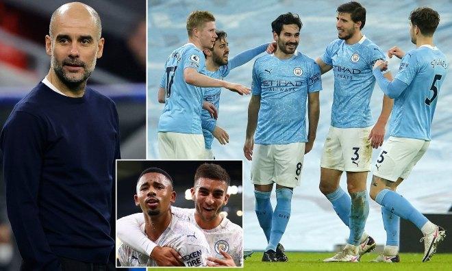 """Ngã ngửa Pep Guardiola lộ bí mật Man City thắng 19 trận: """"Chúng tôi có nhiều tiền"""" - 1"""