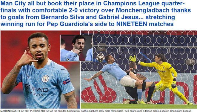 Man City thắng dễ ở Cúp C1: Báo Anh tin sớm giật vé tứ kết, vẫn lo điều gì? - 1