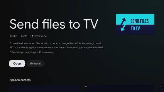 Cách cài đặt ứng dụng (APK) bất kỳ trên tivi thông minh - 1
