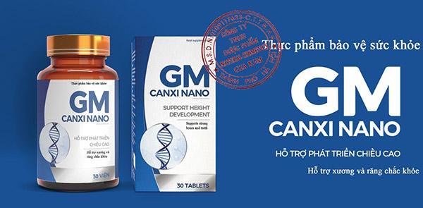 GM Canxi Nano hỗ trợ phát triển chiều cao cho trẻ ngay từ trong bụng mẹ - 1