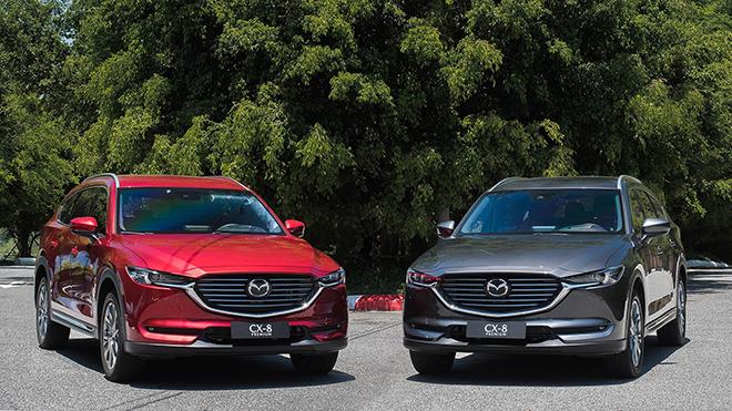 Giá xe Mazda CX-8 lăn bánh tháng 2/2021 - 1