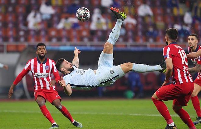 """Top siêu phẩm móc bóng Cúp C1: Giroud đứng """"chung mâm"""" Ronaldo, Bale - 1"""