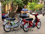 """Thế giới xe - Mãn nhãn với bộ sưu tập Honda Dream """"độ"""" của Giang Trần"""