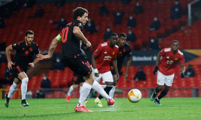 Kết quả bóng đá Europa League, MU - Sociedad: Sững sờ penalty, thắng hụt vì VAR - 1