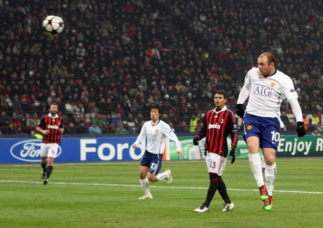 MU đấu AC Milan: Kaka đỉnh cao gieo sầu Ronaldo, Rooney bùng nổ lu mờ Ronaldinho - 6