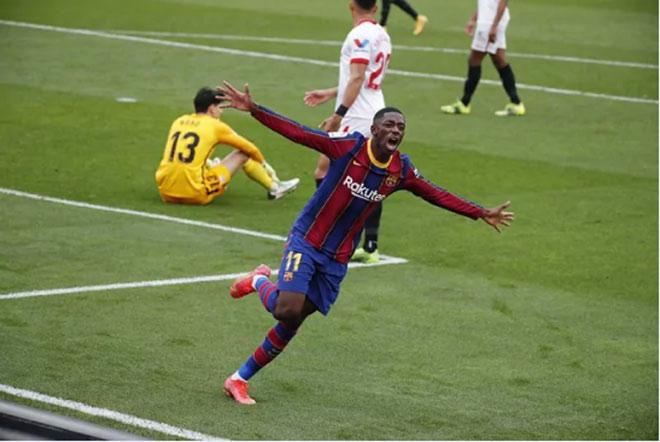 "Video Sevilla - Barcelona: Messi ""gánh team"", vượt mặt Real Madrid - 1"