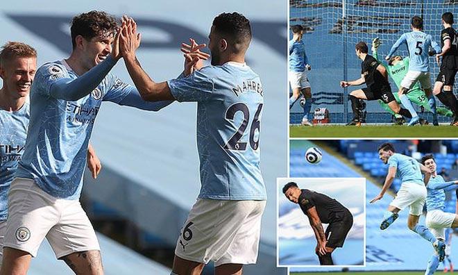 Cực nóng BXH Ngoại hạng Anh: Man City tung hoành, MU - Liverpool lo bị vượt xa - 1