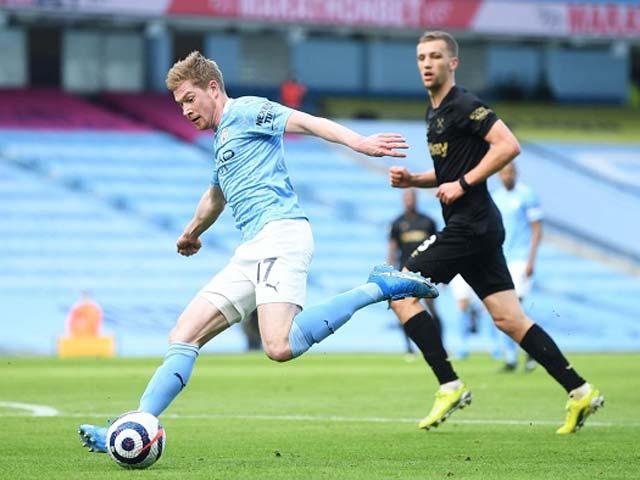 De Bruyne sắp kiến tạo vượt Beckham, Man City hết mơ kỷ lục sau 629 phút - 1