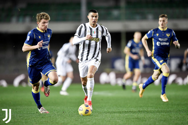 Video Hellas Verona - Juventus: Ronaldo khai hỏa, kết cục sững sờ - 1