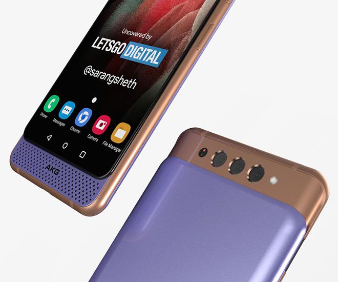 Tròn xoe mắt với thiết kế Galaxy A82 Dual Slider - 4