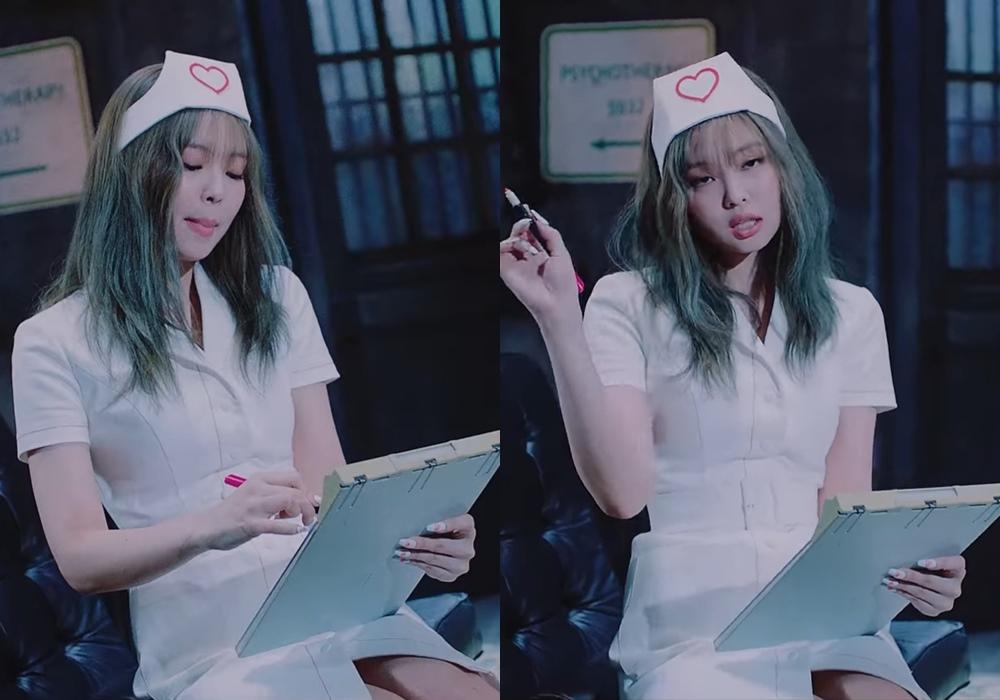 Váy y tá: Trang phục nhạy cảm khiến dư luận Hàn Quốc phản ứng dữ dội khi sexy quá đà - 2