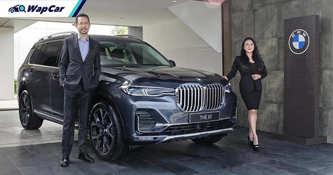 Ra mắt BMW X7 phiên bản lắp ráp tại Indonesia giá từ 3,7 tỷ đồng - 1