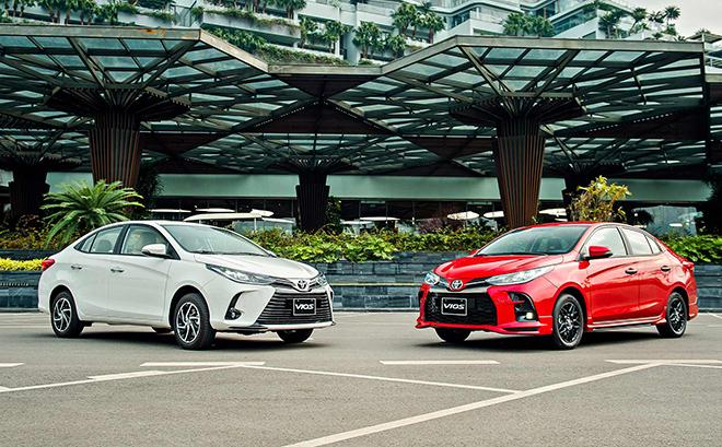 Toyota Vios 2021 vừa ra mắt đã được giảm giá tiền mặt cả chục triệu đồng - 1