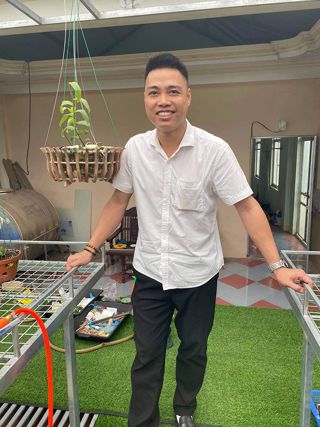 Mãn nhãn với vườn lan đẹp như mơ của nghệ nhân Nguyễn Văn Thắng trên sân thượng 30m2 - 1