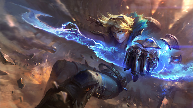 9 generals have a big change after the 2.1a update of League of Legends: Speed War - 3