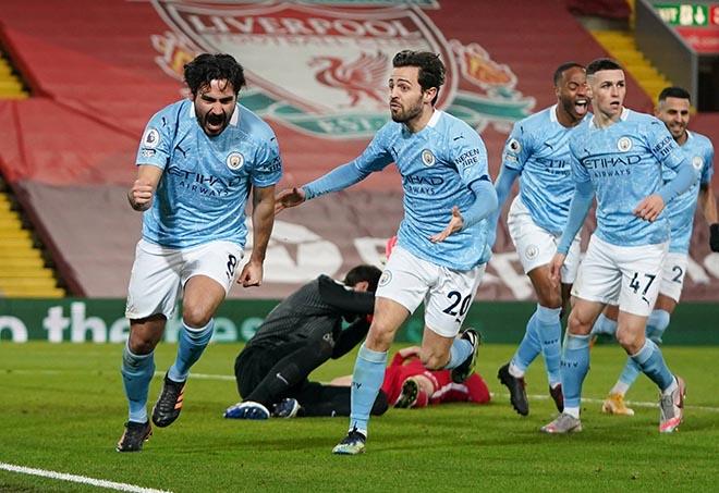 Man City hơn MU 12 điểm: 3 kịch bản gây choáng, vô địch Ngoại hạng Anh khi nào? - 1