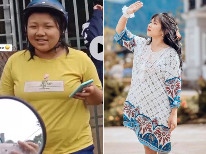 Bục chỉ áo vì quá béo, cô gái giảm cân trong 3 tháng hè và cái kết gây sững sờ - 1