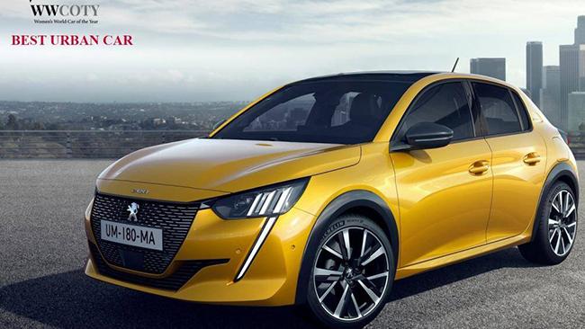 Xe đô thị tốt nhất năm 2021: Peugeot 208