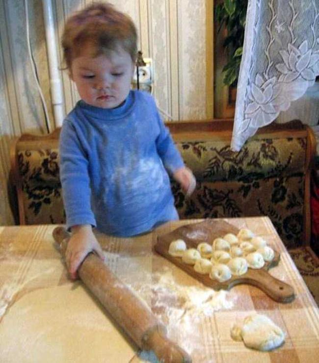 Đầu bếp trong tương lai.