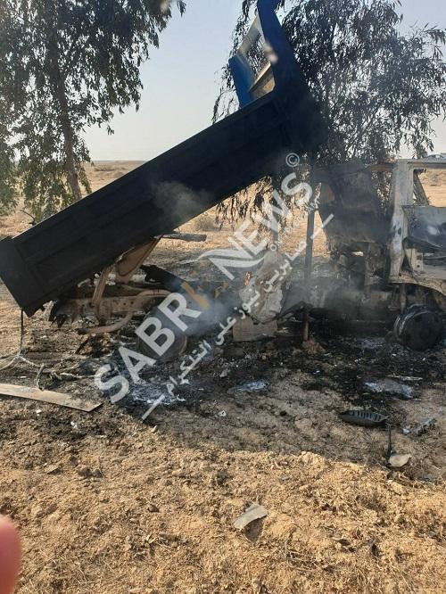 Cận cảnh xe phóng rocket tầm xa tấn công căn cứ Mỹ ở Iraq - 1