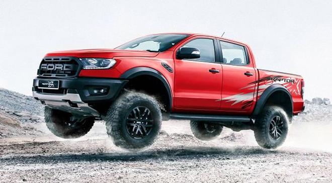 Ford Ranger Raptor có thêm phiên bản X Special màu đỏ với decal tia chớp siêu cháy - 1