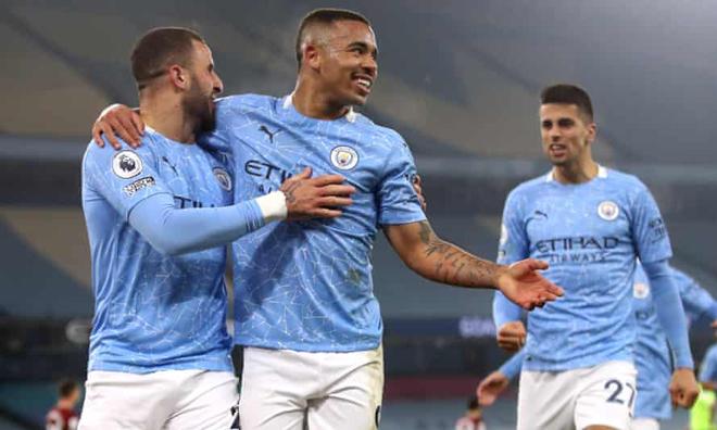 Bảng xếp hạng NHA mới nhất: MU kém Man City mấy điểm trước derby Manchester? - 1