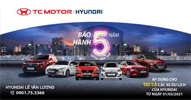 Hyundai Lê Văn Lương bảo hành xe lên tới 5 năm - 1