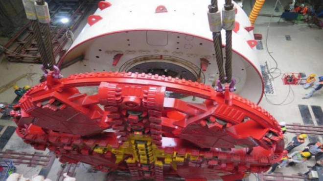 Hoàn thành chạy thử robot đào hầm tuyến Nhổn - ga Hà Nội, sẵn sàng vận hành - 1