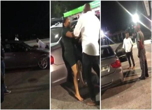 """Clip: Bị bạn gái chia tay, người đàn ông bám trên nắp ca-pô xe BMW, quyết """"đòi quà"""" - 1"""