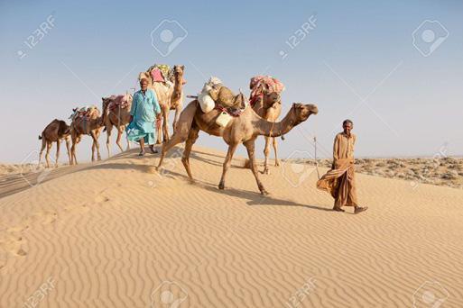 Những phong tục độc đáo... chạm mũi nhau thay lời chào của bộ tộc Bedouin - 1