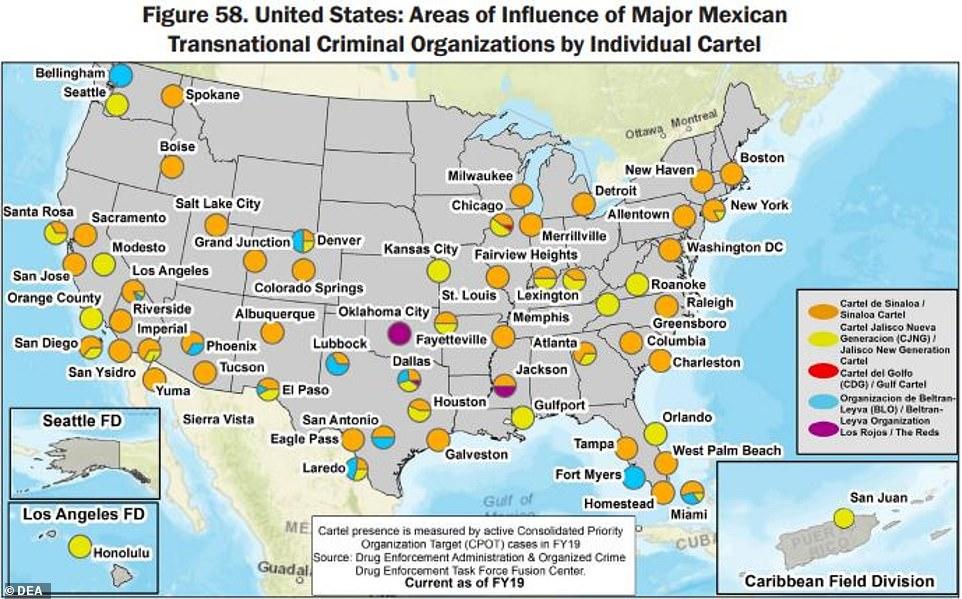 9 băng đảng Mexico thống trị thị trường buôn ma túy ở Mỹ như thế nào? - 1