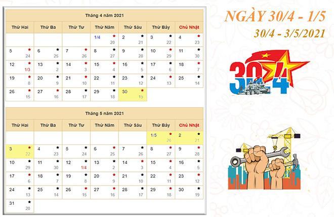 Tin tức 24h qua:Lễ 30/4 và 1/5 năm nay được nghỉ mấy ngày? - 1