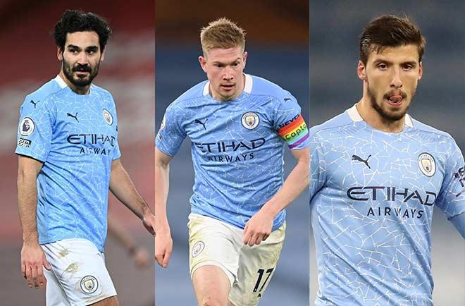Giải cầu thủ số 1 Ngoại hạng Anh: 3 SAO Man City có vượt qua Fernandes? - 1