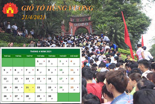 Nóng trong tuần:Giỗ tổ Hùng Vương, lễ 30/4 và 1/5 năm nay người lao động được nghỉ mấy ngày - 1