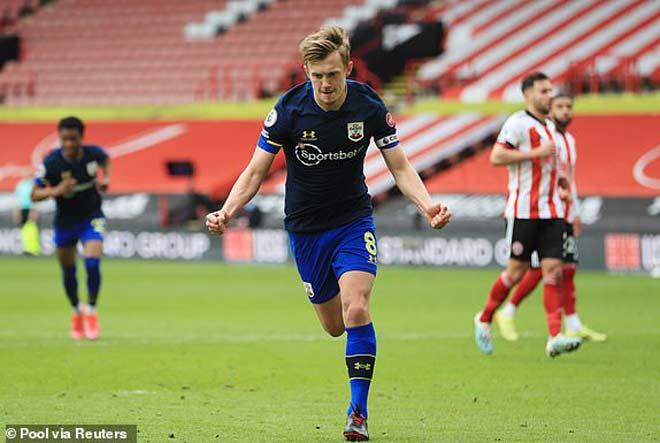 Video Sheffield United - Southampton: Penalty mở điểm, siêu phẩm ấn định - 1